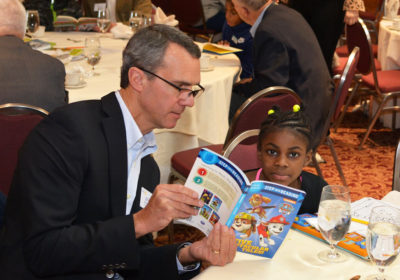 Rochester Rotary Spring Into Reading School 8
